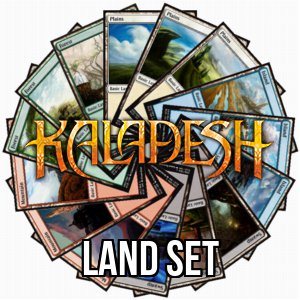 Set di terre base di Kaladesh
