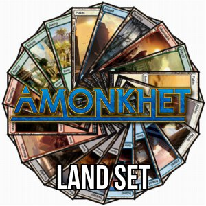 Set di terre base di Amonkhet