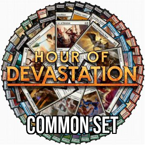 Set di comuni di Hour of Devastation