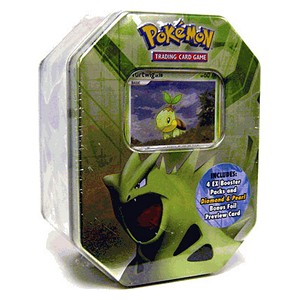 2007 Spring Collector's Tins: Tyranitar Tin-Box (North American)