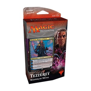 "Aether Revolt: ""Tezzeret, Master of Metal""  Planeswalker Deck"