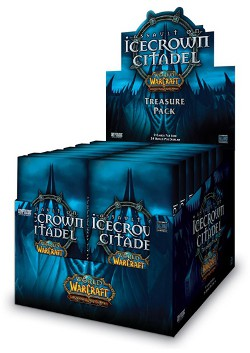 Assault on Icecrown Citadel: Treasure Pack Display