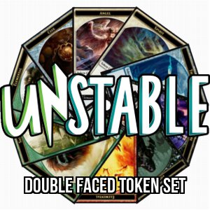 Set di token di due lati di Unstable
