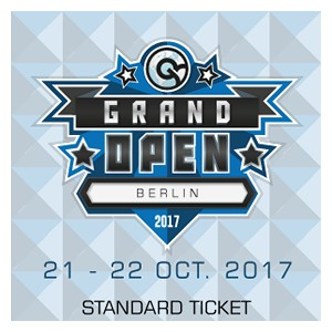 CCG Grand Open Berlin 2017 Standard Ticket