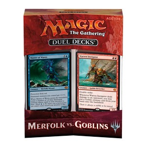 Set completo di Duel Decks: Merfolk vs. Goblins