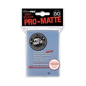 50 Ultra Pro Pro-Matte Sleeves (Translucent)