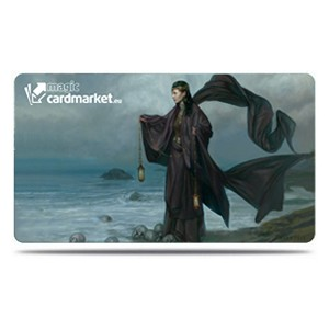 "Tapete Magiccardmarket ""Woman by the Sea"" by Volkan Baga"