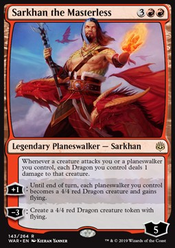 Sarkhan the Masterless