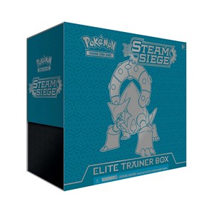 Elite Trainer Box de Steam Siege