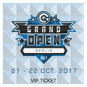 CCG Grand Open Berlin 2017 VIP Ticket