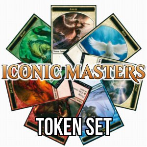 Set di token di Iconic Masters