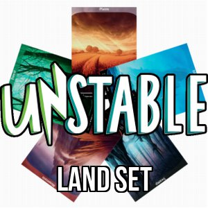 Set di terre base di Unstable