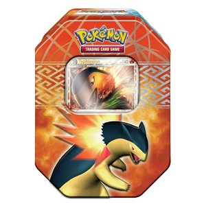 2010 Spring Collector's Tins: Typhlosion Tin-Box