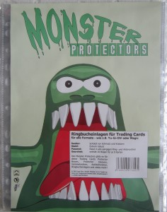 10 Monster Protector Nine Pocket Pages