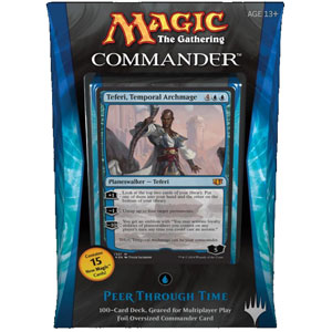 "Commander 2014: ""Peer Through Time"" Deck (Blue)"