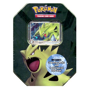 2007 Spring Collector's Tins: Tyranitar Tin-Box (International)