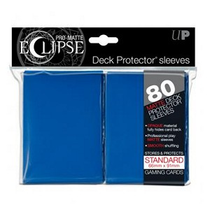 80 Ultra Pro Pro-Matte Eclipse Sleeves (Blue)
