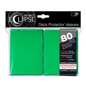 80 Ultra Pro Pro-Matte Eclipse Sleeves (Green)