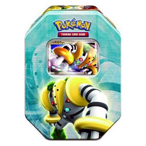 2008 Holiday Collector's Tins: Pokebox Regigigas LV.X