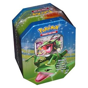 2009 Fall Collector's Tins: Pokebox Rayquaza LV.X