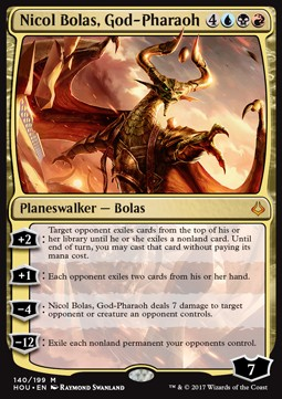 Nicol Bolas, God Pharaoh