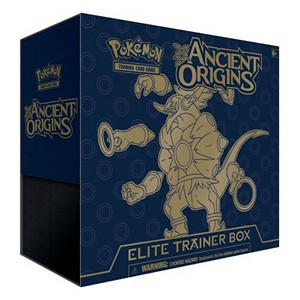 Elite Trainer Box de Origines Antiques
