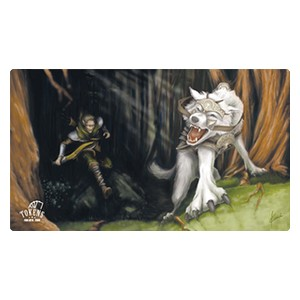 Tokens for MTG: Voja Wolf Playmat