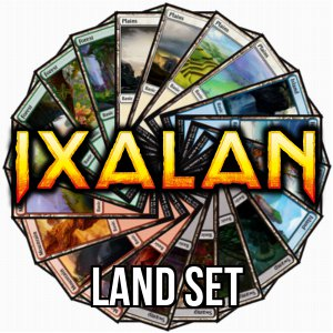 Set di terre base di Ixalan