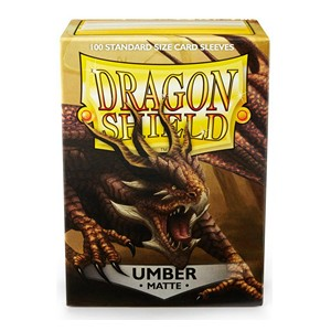 100 Dragon Shield Sleeves - Matte Umber