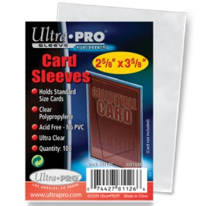 100 Ultra Pro Soft (Penny) Sleeves