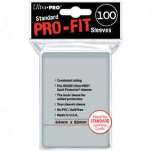 100 Ultra Pro Pro-Fit Sleeves