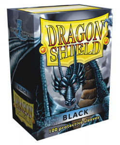 100 Dragon Shield Sleeves - Black