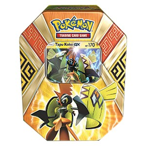 Island Guardians Tins: Pokebox Tapu Koko GX