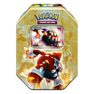 2008 Holiday Collector's Tins: Pokebox Heatran LV.X
