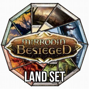 Mirrodin Besieged Basic Land Set