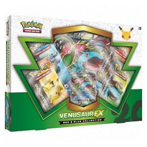 Red & Blue Collections: Venusaur EX Collection