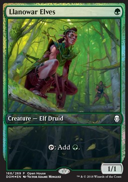 Llanowar Elves Promo Art