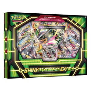 Shiny Rayquaza EX Box