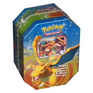 2009 Fall Collector's Tins: Charizard LV.X Tin-Box