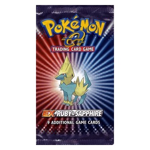 EX Ruby & Sapphire Booster