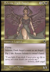 Selenia, Dark Angel