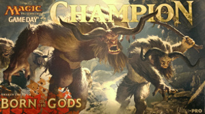 Born of the Gods: Tapete Game Day Champion