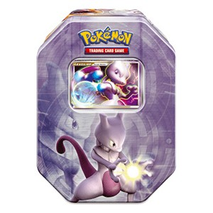 2008 Fall Collector's Tins: Mewtwo LV.X Tin-Box