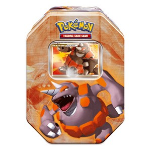 2008 Fall Collector's Tins: Pokebox Rhyperior LV.X