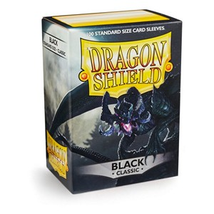 100 Dragon Shield Sleeves - Classic Black