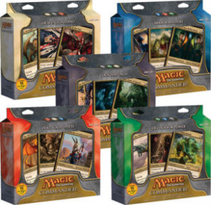 Commander Deck Set