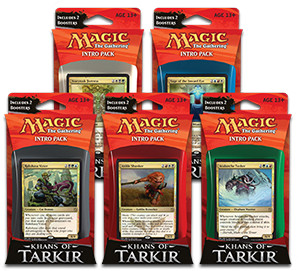 Set de Intro Packs de Khans of Tarkir