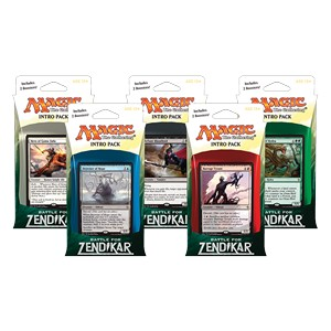 Set de Intro Packs de La batalla por Zendikar