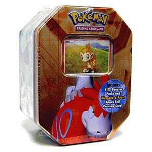 2007 Spring Collector's Tins: Pokebox Camerupt (North American)