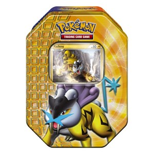 2010 Fall Collector's Tins: Raikou Tin-Box